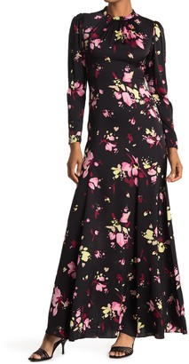 A.L.C. Murray Floral Long Sleeve Maxi Dress