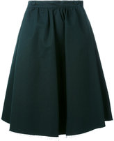 Societe Anonyme double button skirt