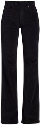 Joe's Jeans Molly High-Rise Flare Velvet Jeans