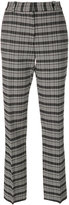 Victoria Beckham plaid tailored trousers