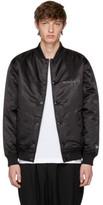 Yohji Yamamoto Black New Era Edition Bomber Jacket