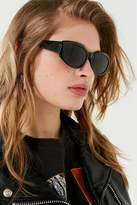 Urban Outfitters Parkie Slim Oval Sunglasses