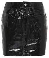 LPA Leather miniskirt