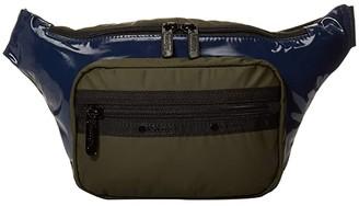 Le Sport Sac Montana Belt Bag (Black) Bags