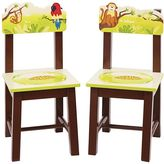 Guidecraft Jungle Party Chairs Set