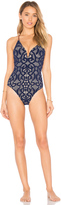 Nanette Lepore Crochet Goddess One Piece