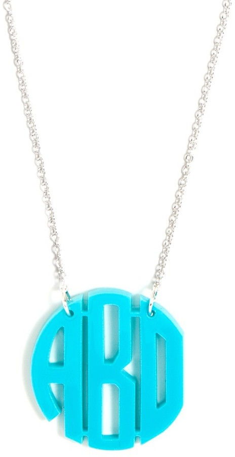 BaubleBar Acrylic Block Monogram (Order By 12/2 For Xmas Delivery)