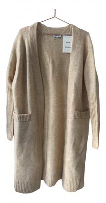 Acne Studios Beige Wool Knitwear