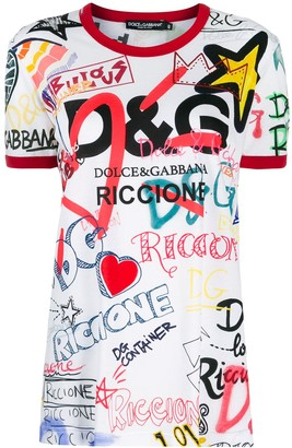Dolce & Gabbana Exclusive all-over print T-shirt
