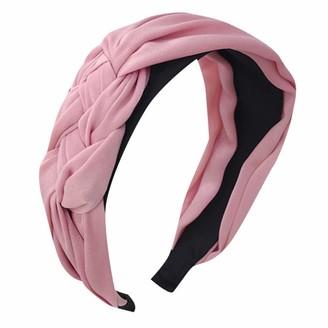 Eertx Women's Cute Headband Alice Band Top Knot Fashion Plain Headband Hairband- for Sports Yoga Running Cycling Fitness Exercise Riding Basketball