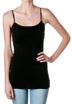 Hollywood Star Fashion Cami Camisole Built in Shelf BRA Adjustable Spaghetti Strap Tank Top