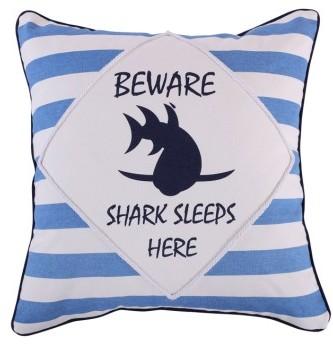 Levtex Lextex Nolan Shark Pillow