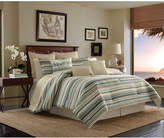 Tommy Bahama Home Canvas Stripe Queen 4-Pc. Comforter Set