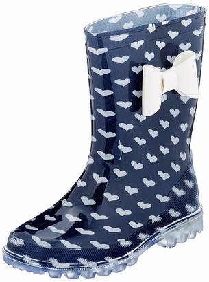 BeOnly Be Only Girls Amour Kid Flash Wellington Boots