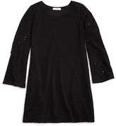 Pinc Premium Girls' Bell Sleeve Lace Dress - Sizes S-XL