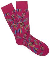 Pantherella Tuvalu Tropical Print Socks