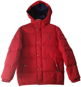 Polo Ralph Lauren Red Cotton Jackets & Coats