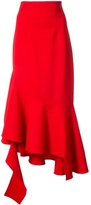 Monse Asymmetric Midi Skirt