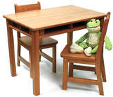 Lipper Three-Piece Kids Four-Shelf Table Set