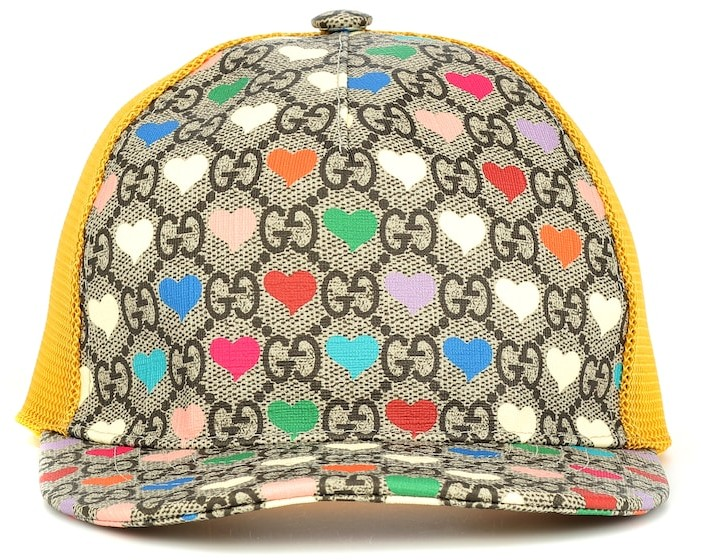 Gucci Kids GG Heart baseball cap