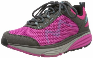 MBT Women's Colorado 18 W Low-Top Sneakers Pink (Grey/Purple 1195y) 4.5 UK (38 EU)