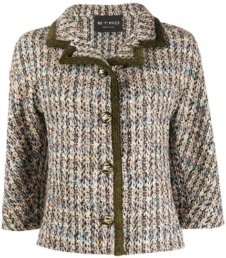 Etro Fitted Knit Jacket