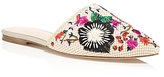 Kate Spade Monteclair Embroidered Mules