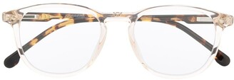 Carrera Transparent-Effect Square Frame Glasses