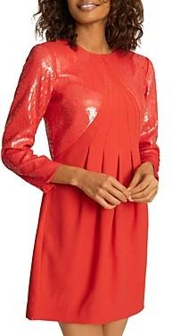 Reiss Cara Sequined Mini Dress