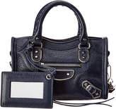 Balenciaga Classic Metallic Edge Leather Nano Bag