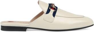 Gucci Women's Princetown leather slipper
