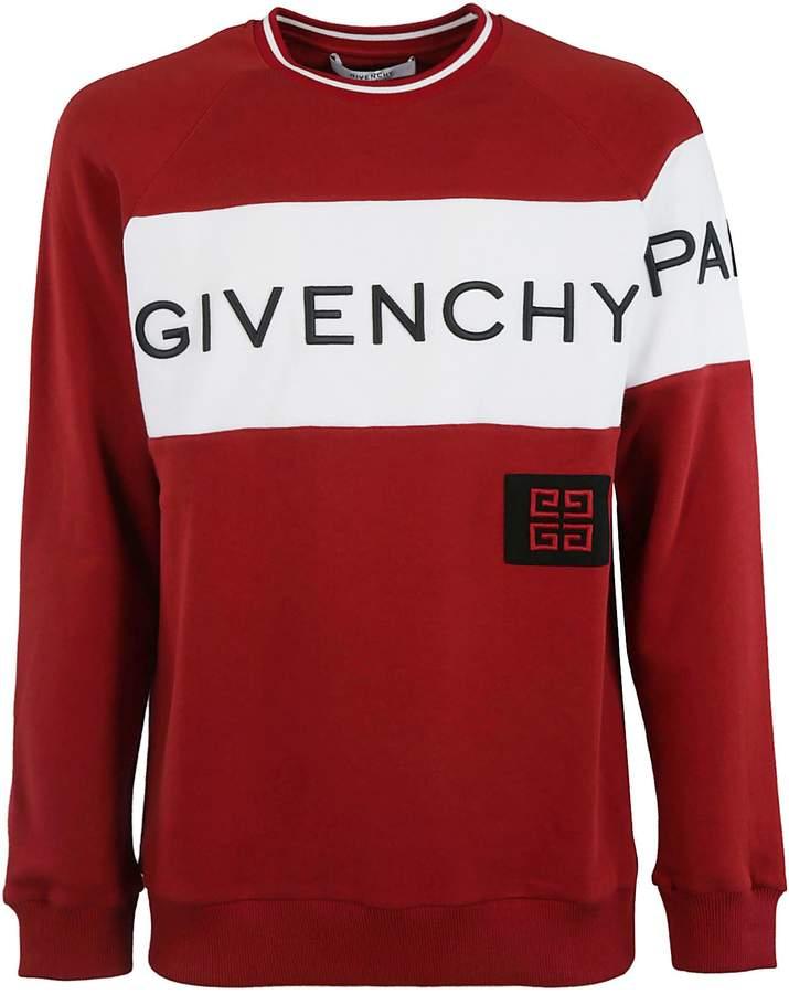 Givenchy Color Block Logo Sweatshirt