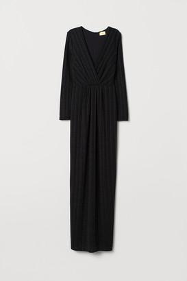 H&M Glittery maxi dress