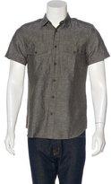 Belstaff Linen-Blend Utility Shirt w/ Tags