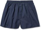 Sunspel - Pin-dot Cotton Boxer Shorts