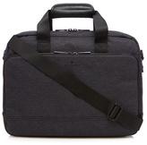 Jeff Banks Dark Grey Textured Despatch Bag