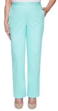 Alfred Dunner Petite Spring Lake Proportioned Pull-On Pants