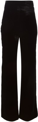 Emilio Pucci Pre Owned wide trousers