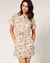 Birds Of A Feather Shirt Dress