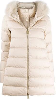 Herno Padded Zip-Front Coat