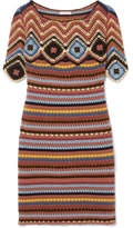 See by Chloe Crocheted Cotton Mini Dress - Tan