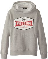 Volcom Boy's Patch Stone Pullover Hoodie 8163553