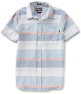 O'Neill Big Boys 8-20 Rhett Striped Short-Sleeve Woven Shirt