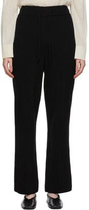 LE 17 SEPTEMBRE LE17SEPTEMBRE Black Knit Lounge Pants