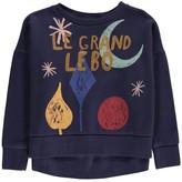 Bobo Choses Organic Cotton Moon Sweatshirt