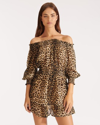 Veronica Beard Arcos Cover-Up Dress