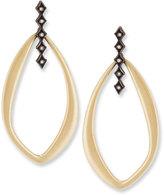 Armenta Old World Pointed Oval Diamond Crivelli Drop Earrings