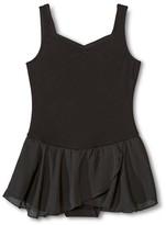 Danz N Motion by Danshuz Danz N Motion® by Danshuz® Girls' Sweetheart Activewear Dress - Black L(12-14)