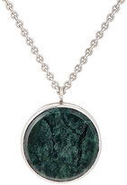 Tom Wood Women's Marble & Sterling Silver Medallion Locket Necklace-SILVER