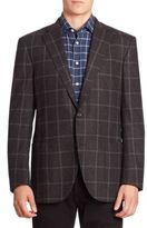 Luciano Barbera Textured Wool Jacket